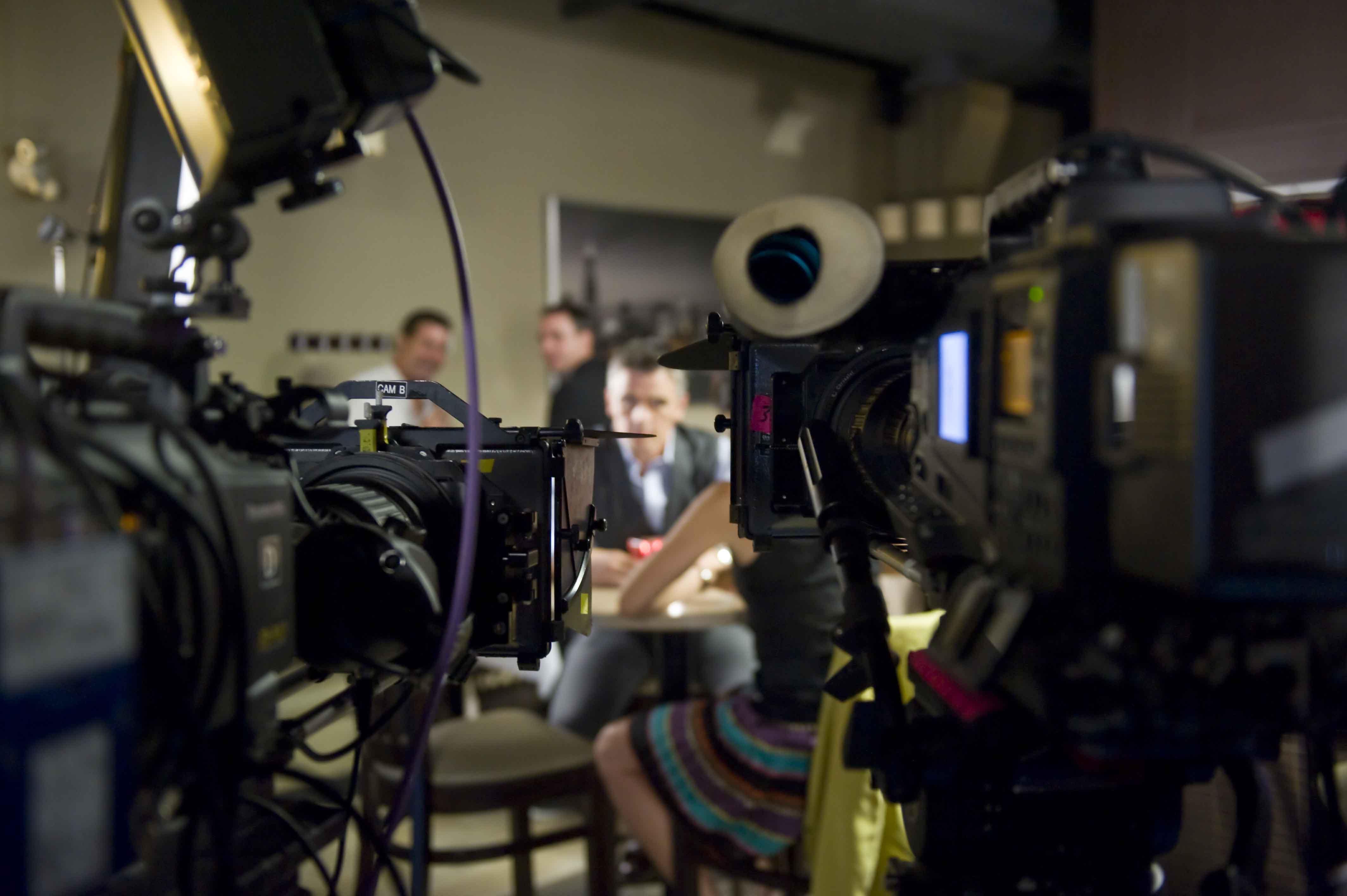 camréra sur un plateau de tournage