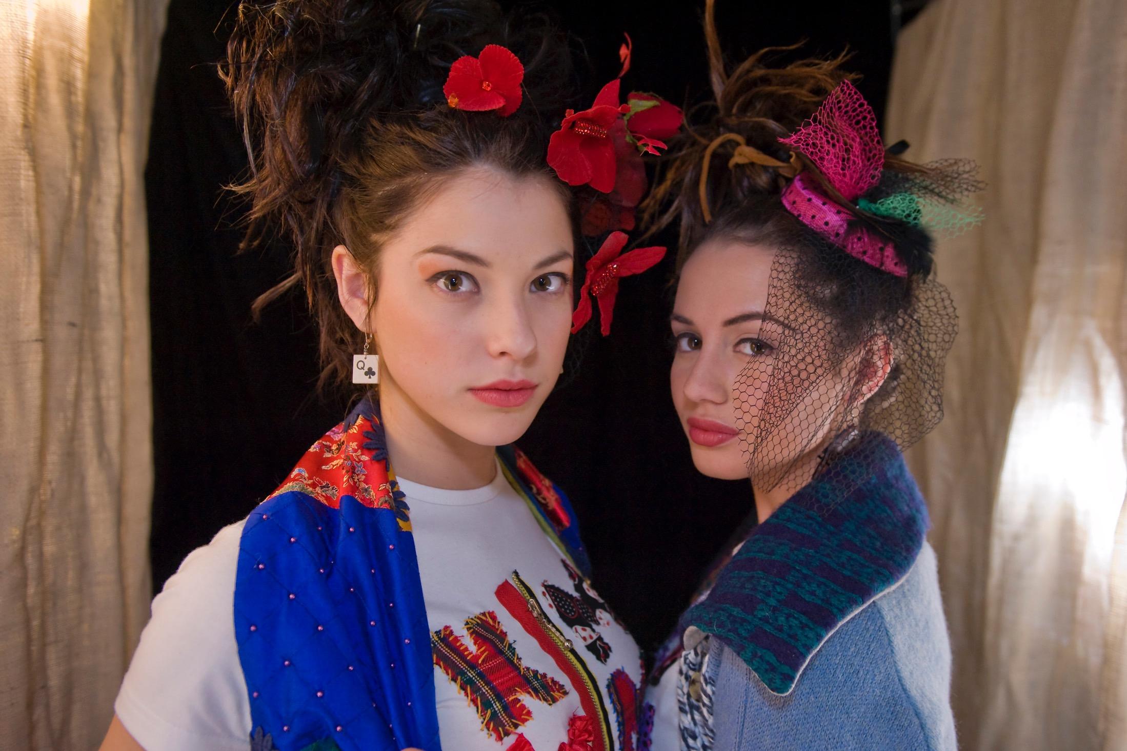 Mylène St-Sauveur et Alyssa Labelle